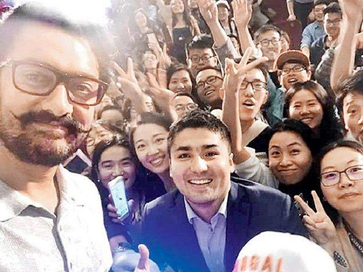 Aamir Khan, china