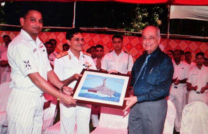 Lt Commander BN Kavina