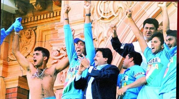 Image result for sourav ganguly shirt open LORDS