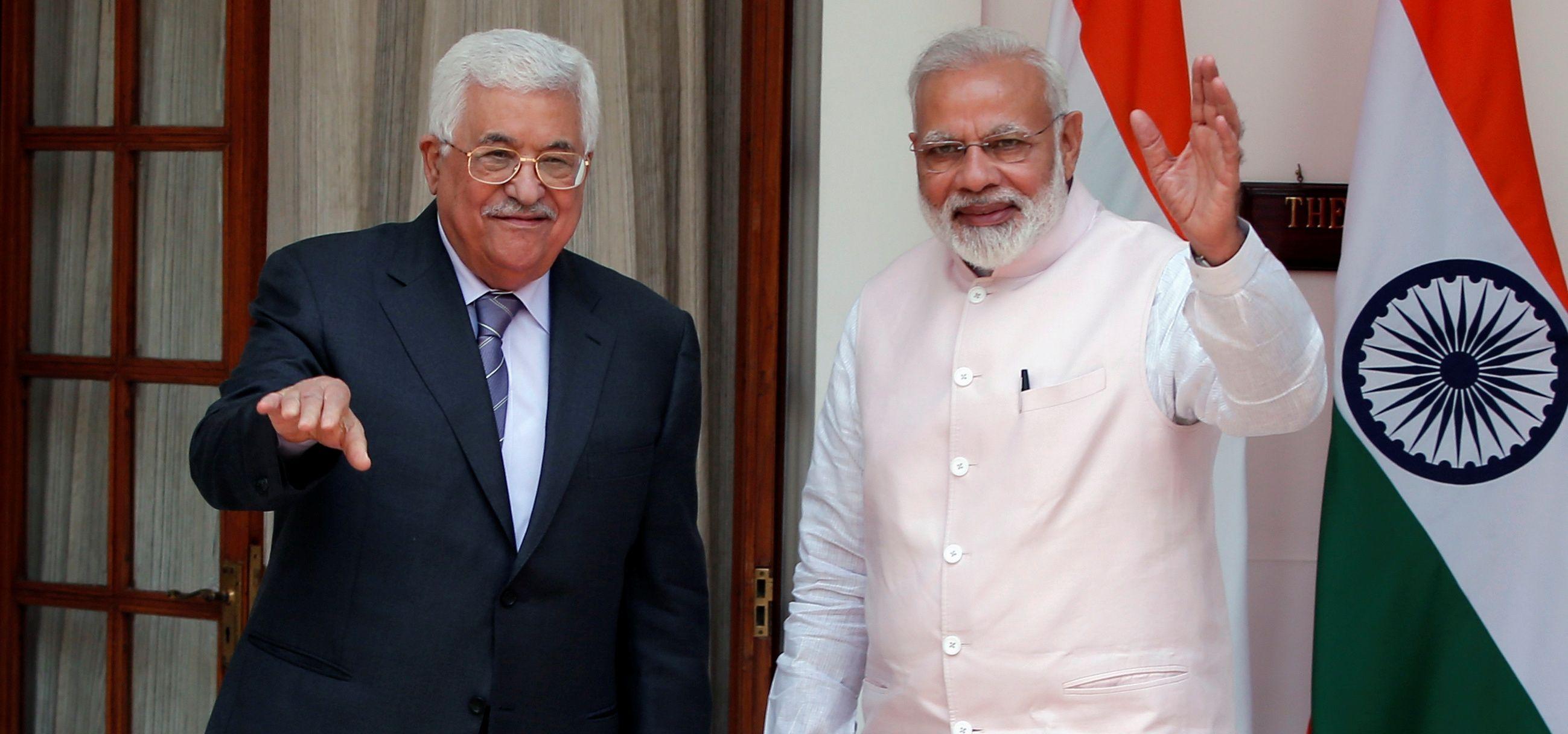 Modi and palestine