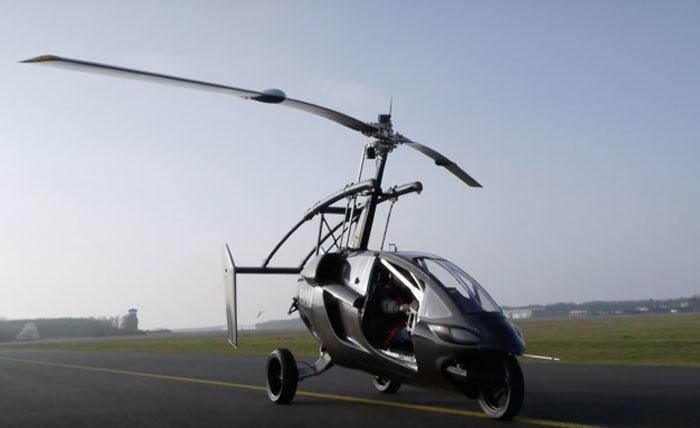 Dutch Firm To Launch Its First Flying Car By 2018 Because