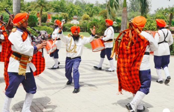 This Punjabi Village And Its 30 Pipe Bands Make Big Money At