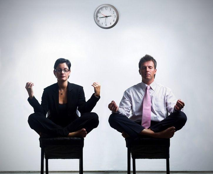 Breathe to let go anxiety or restlessness, burn some extra calories and refocus