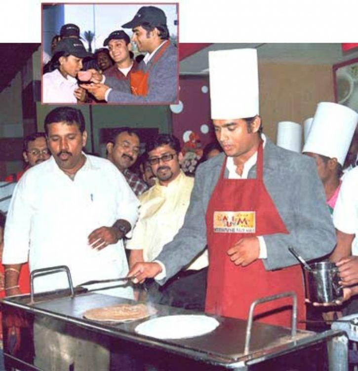 Image result for madhavan cooking