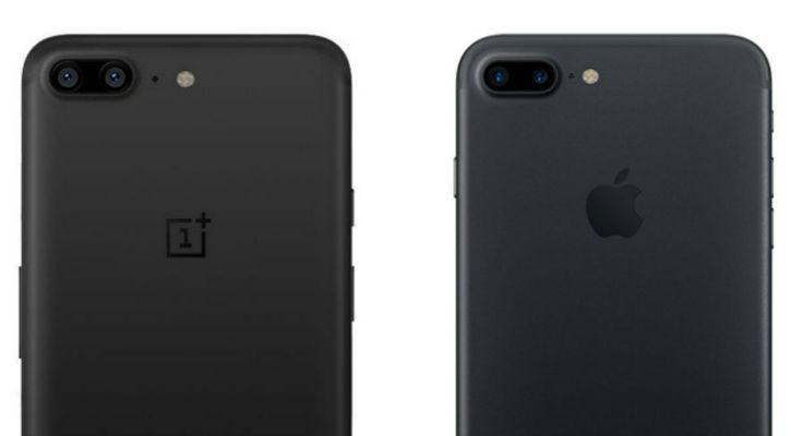 OnePlus 5 vs iPhone 6