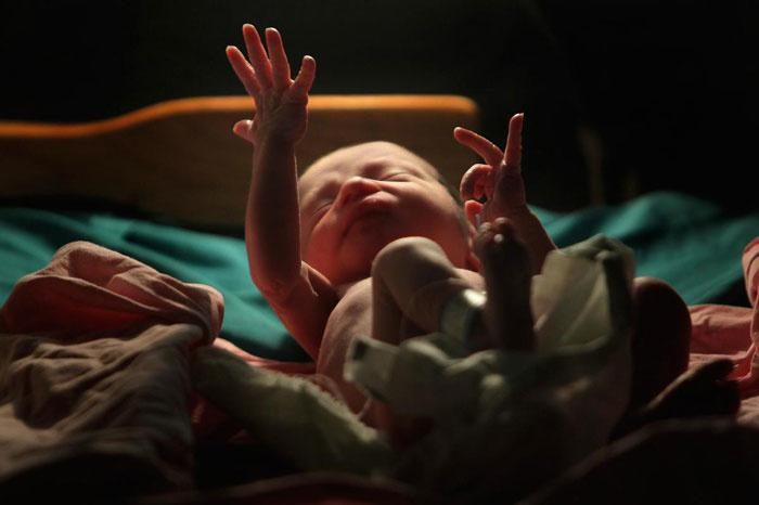 Female foetuses found dumped