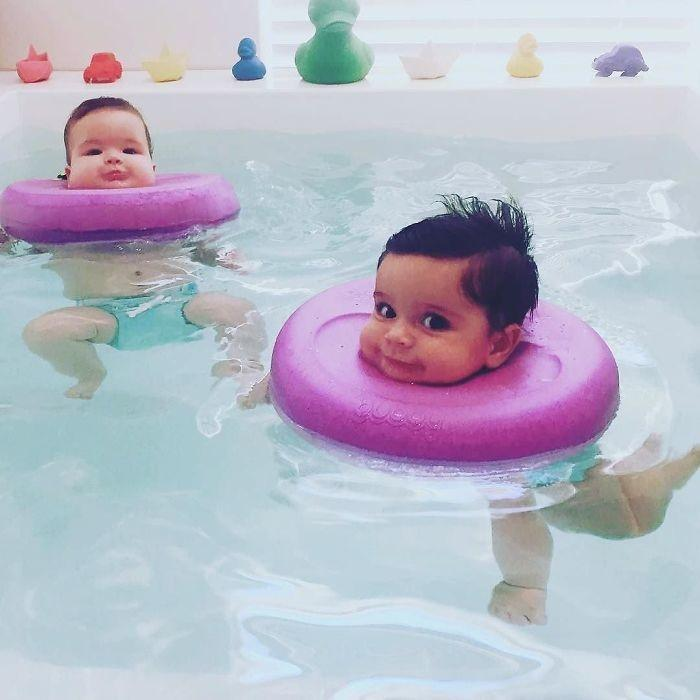 Two Indians Open A Baby Spa In Australia Amp These Photos Of