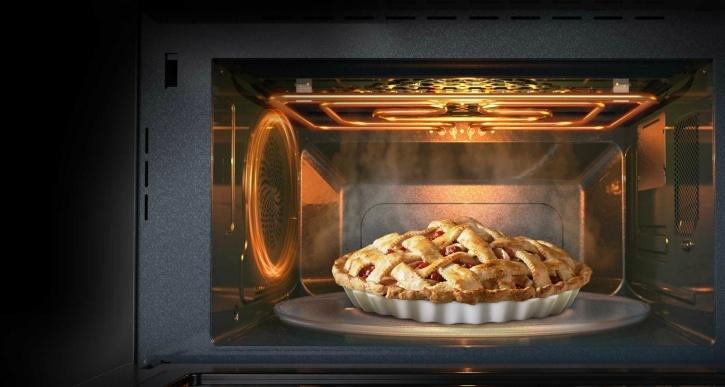 How to heat baked food without drying it
