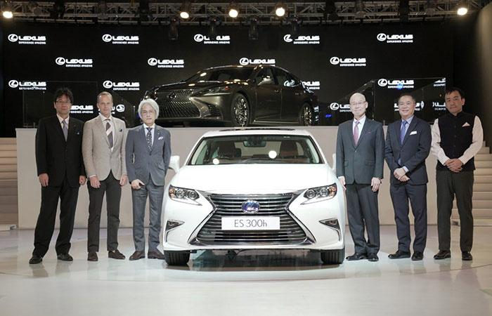 Japanese Luxury Car Brand Lexus Comes To India With Three Models