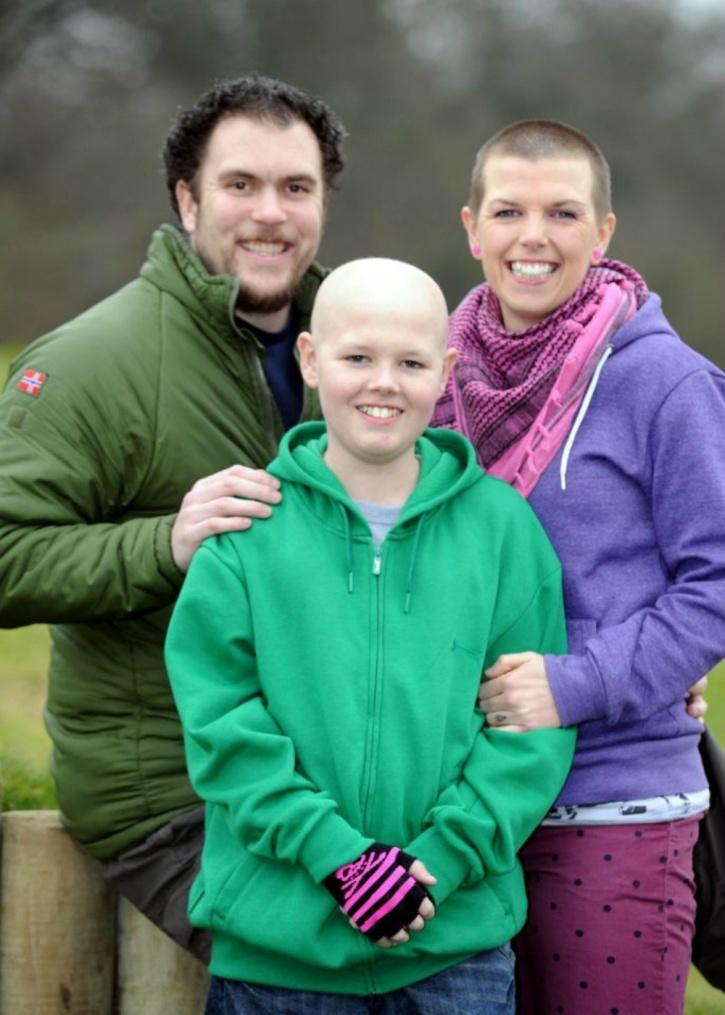 Deryn survived cancer after been administered cannabis