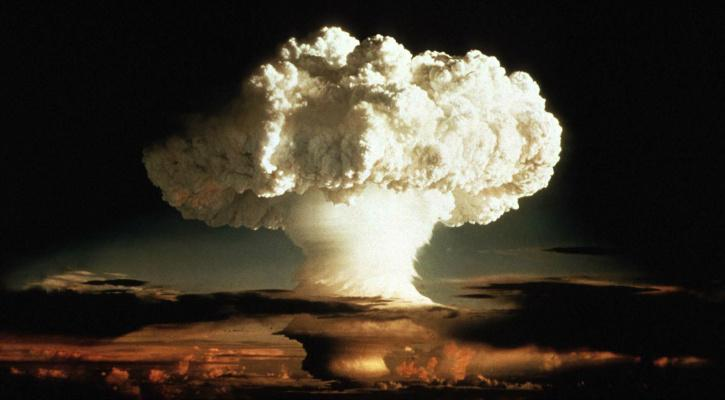 Mushroom cloud of the first Hydrogen bomb test, Ivy Mike - Reuters