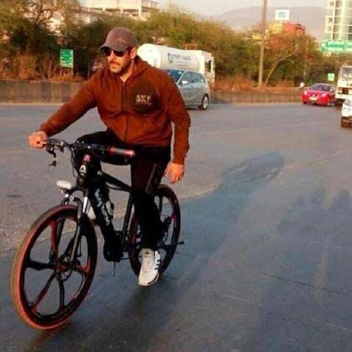 Image result for salman khan bicycle