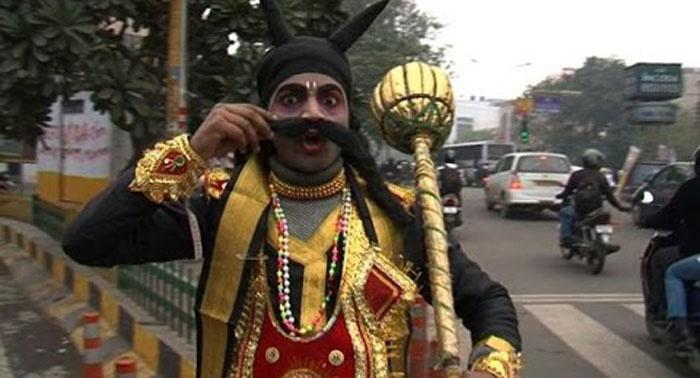 Traffic Cops Bring Yamraj