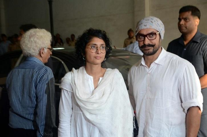 Aamir with Kiran Rao