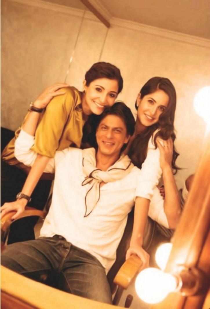 Image result for Srk Anushka and katrina