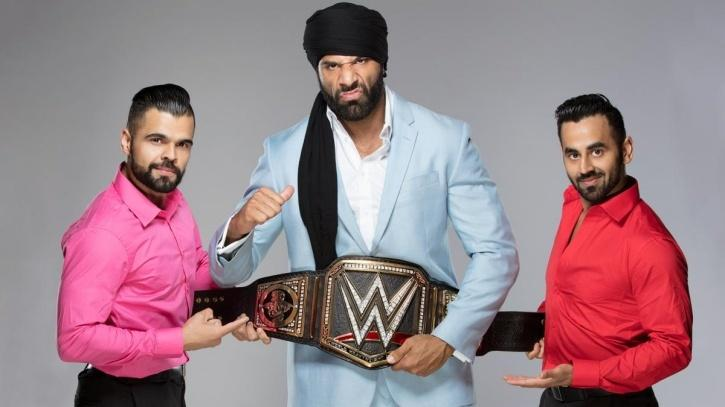 Jinder Mahal is the new WWE champion