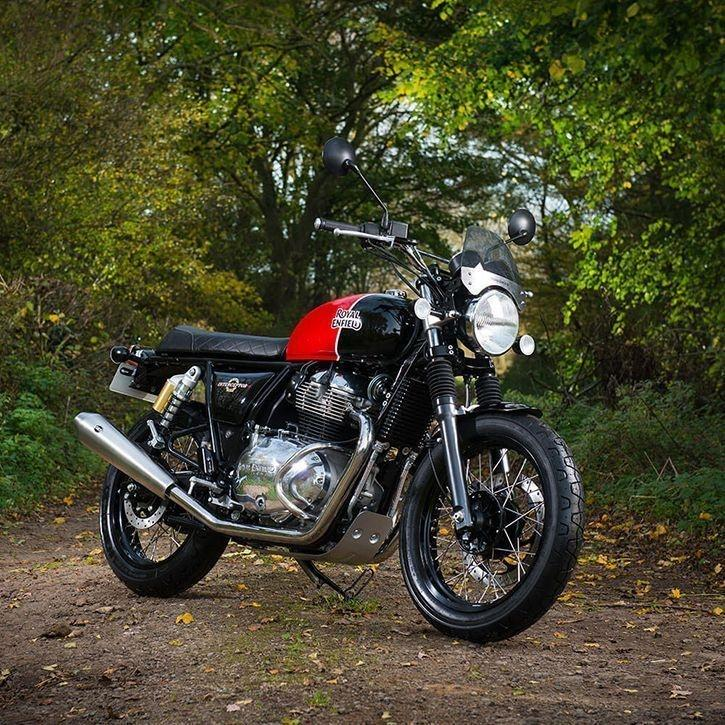 Royal Enfield Launches New 650cc Interceptor And Continental Bikes