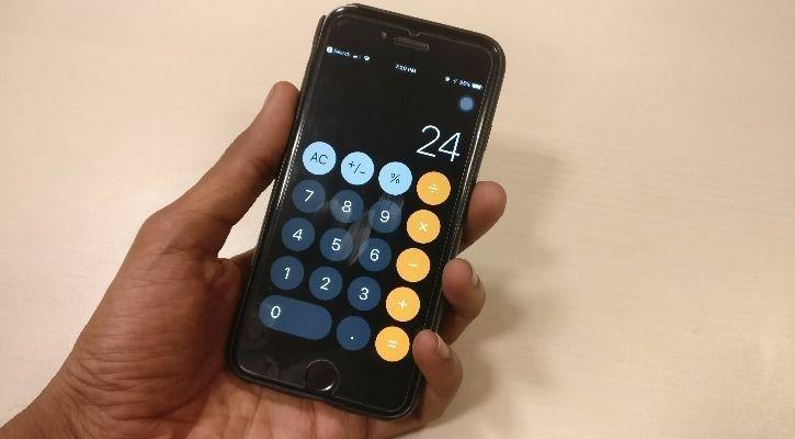 Type 1+2+3 In Your iPhone Calculator, If It's On iOS 11 It Won't