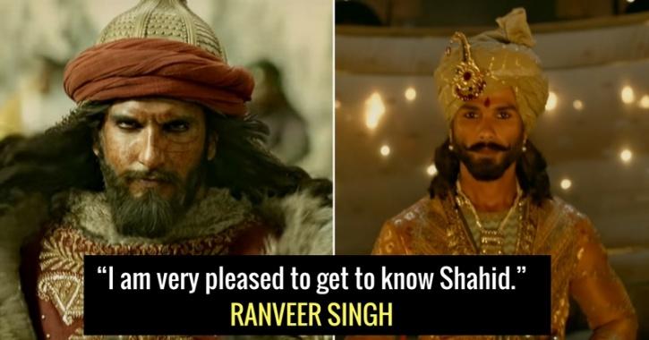 Ranveer Singh, Shahid Kapoor,