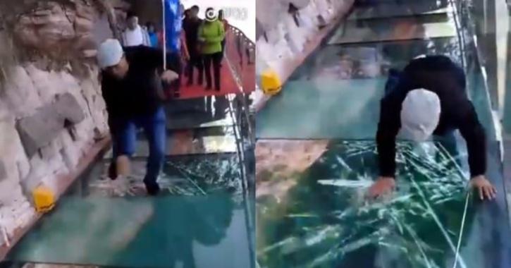 glass walkway China