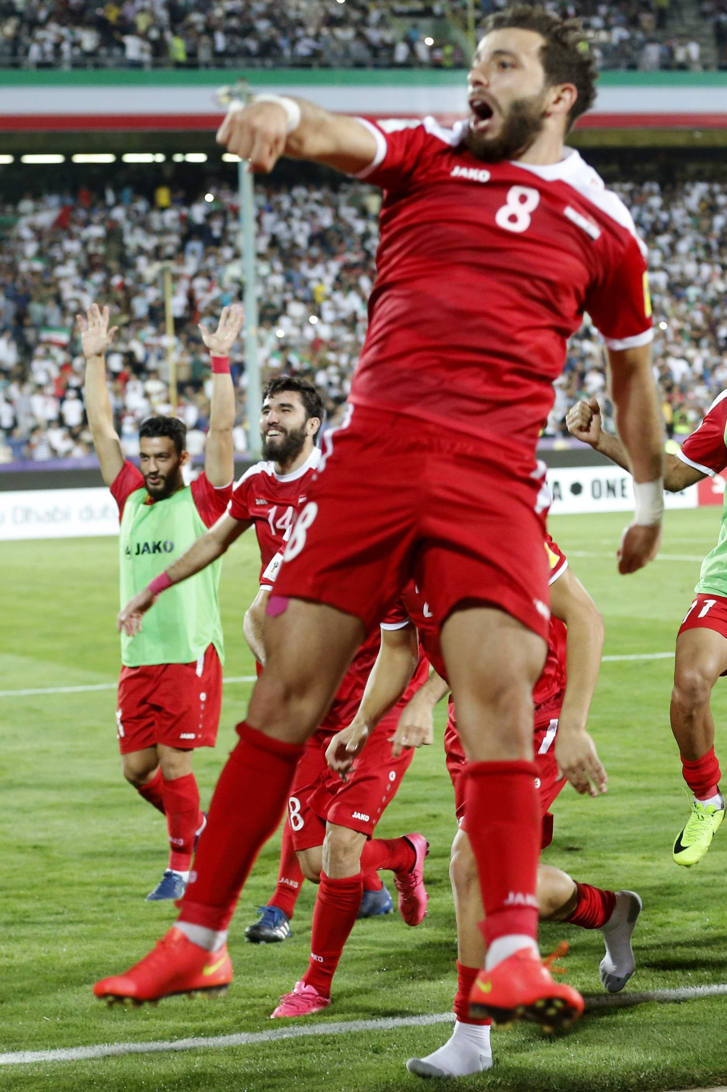 9c17f6cc6 War-Torn Syria Are Eyeing A 2018 Football World Cup Berth And They Believe  It s Possible
