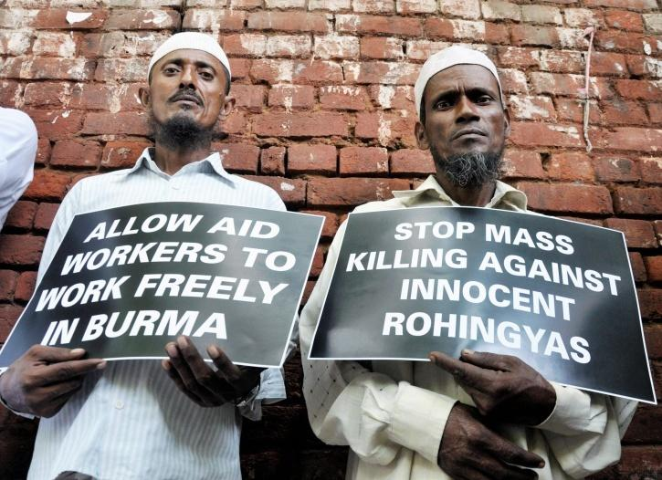 Rohingya Muslims living in India