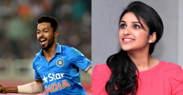 Hardik Pandya Denies Any Love Relation With Parineeti Chopra, Says