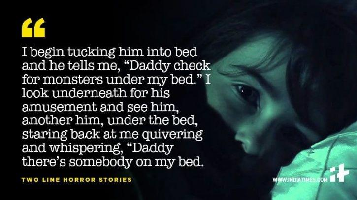 11 Two-Line Horror Stories That Will Send Shivers Down Your