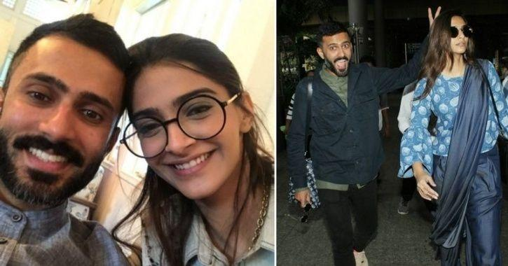 A picture of lovebirds Sonam Kapoor and Anand Ahuja.