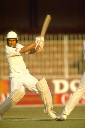 Sachin Tendulkar plundered 28 runs in one over off Abdul Qadir in an exhibition match