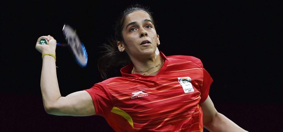 Saina Nehwal won gold in women