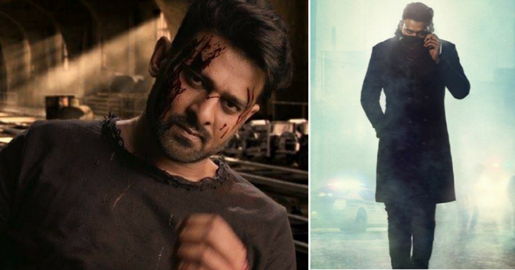 A picture of Prabhas from Saaho.
