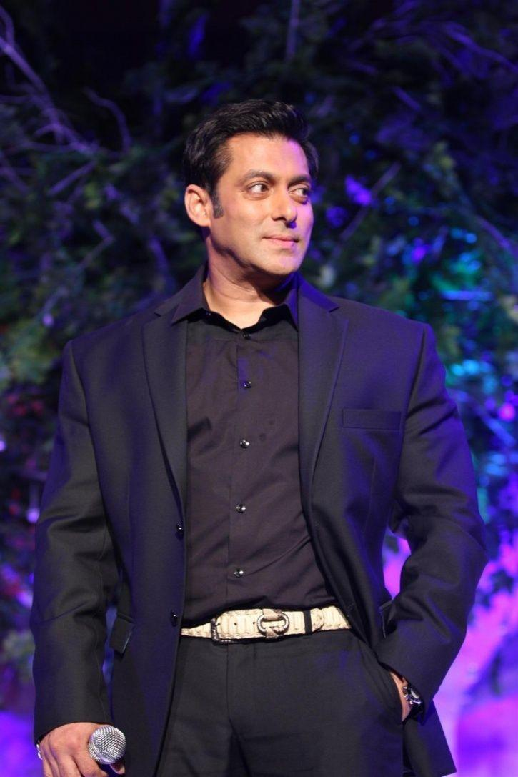 A picture of Salman Khan from Bigg Boss 12.