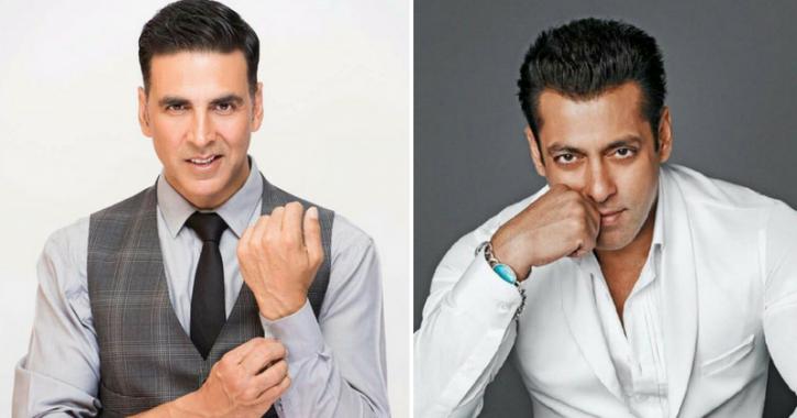 Akshay Kumar & Salman Khan Make It To The List Of World's Top Ten Highest Paid Actors