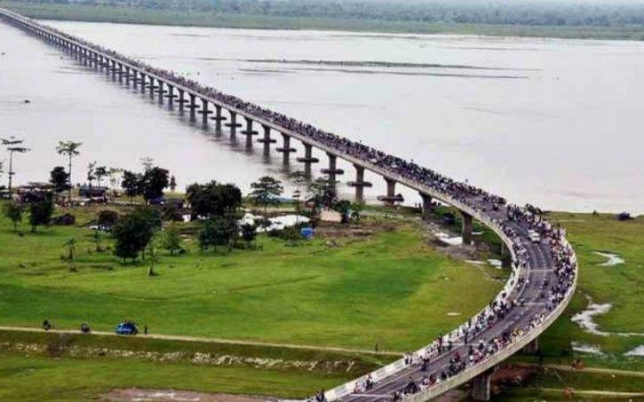B bridge Assam, India