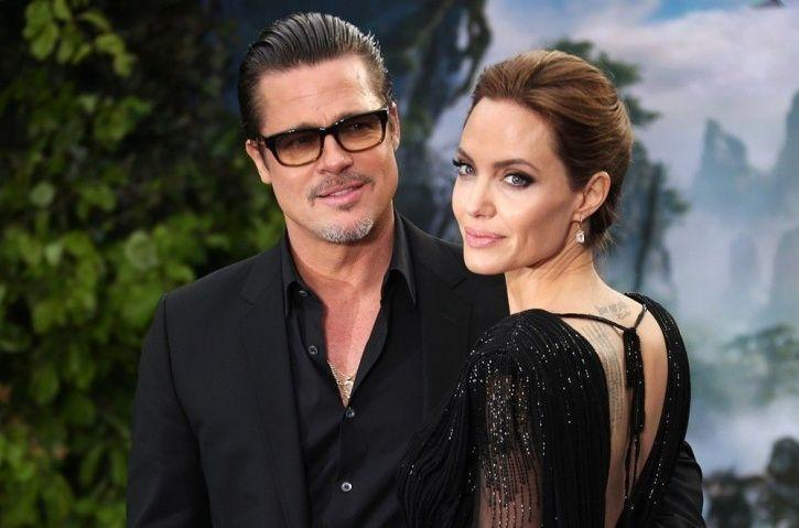 Brad Pitt and Angelina Jplie
