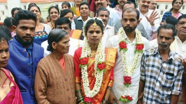 Wedding Brings Cheer To The Hopeless, Kerala Couple Tie Knot