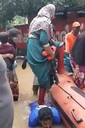 India Flood FloodHit Kerala Kerala Kerala Floods Indian People Catastrophe