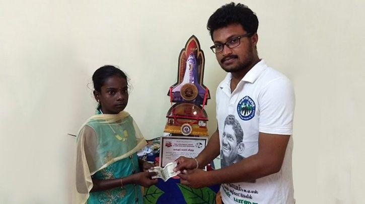 Kerala flood, girl donates heart surgery money