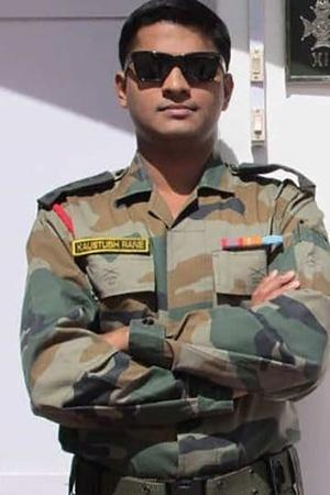 Major Kaustubh Rane Killed In LoC