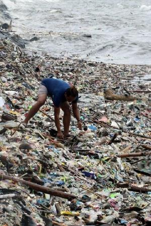 Mumbai Plastic Waste People Plastic Waste Management Indian World Pollution