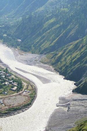 Pakistan PoK Muzaffarabad water war Neelum Jhelum hydropower plant