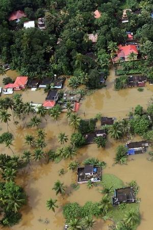 Rescue operations flood ravaged Kerala IAS officers government Air India