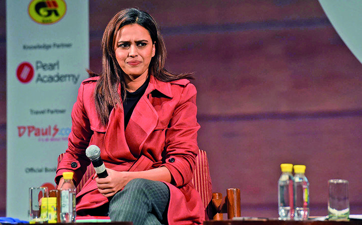 Actress Swara Bhaskar speaks against BJP