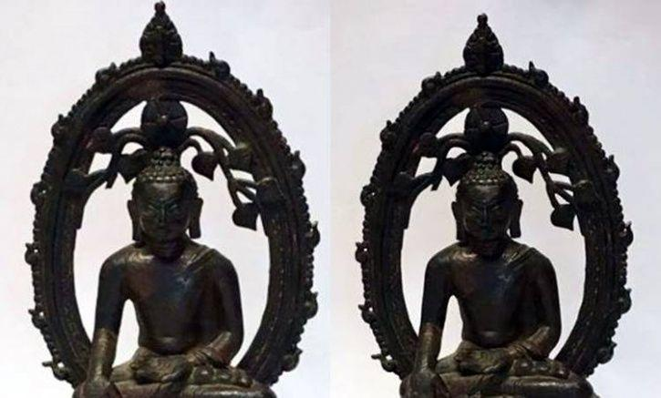 UK Returns Buddha Statue Stolen 57 Years Ago To India On Independence Day