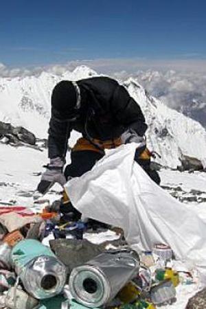 Waste in ladakh