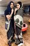 Who wore it better asks Varun Dhawan On His Saree Pic With Anushka Sharma We Cant Decide