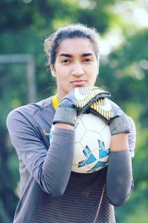 Afshan Ashiq Kashmir footballer Premier Indian Football Academy Mumbai Hope Solo Biopic