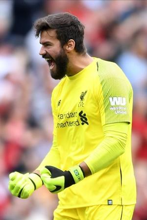 Alisson pulled off a great save