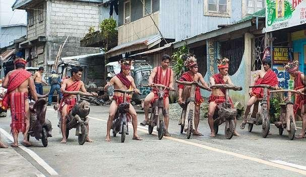 An Aborigine Tribe From Philippines Is Making And Riding Ornate Bikes Made From Wood